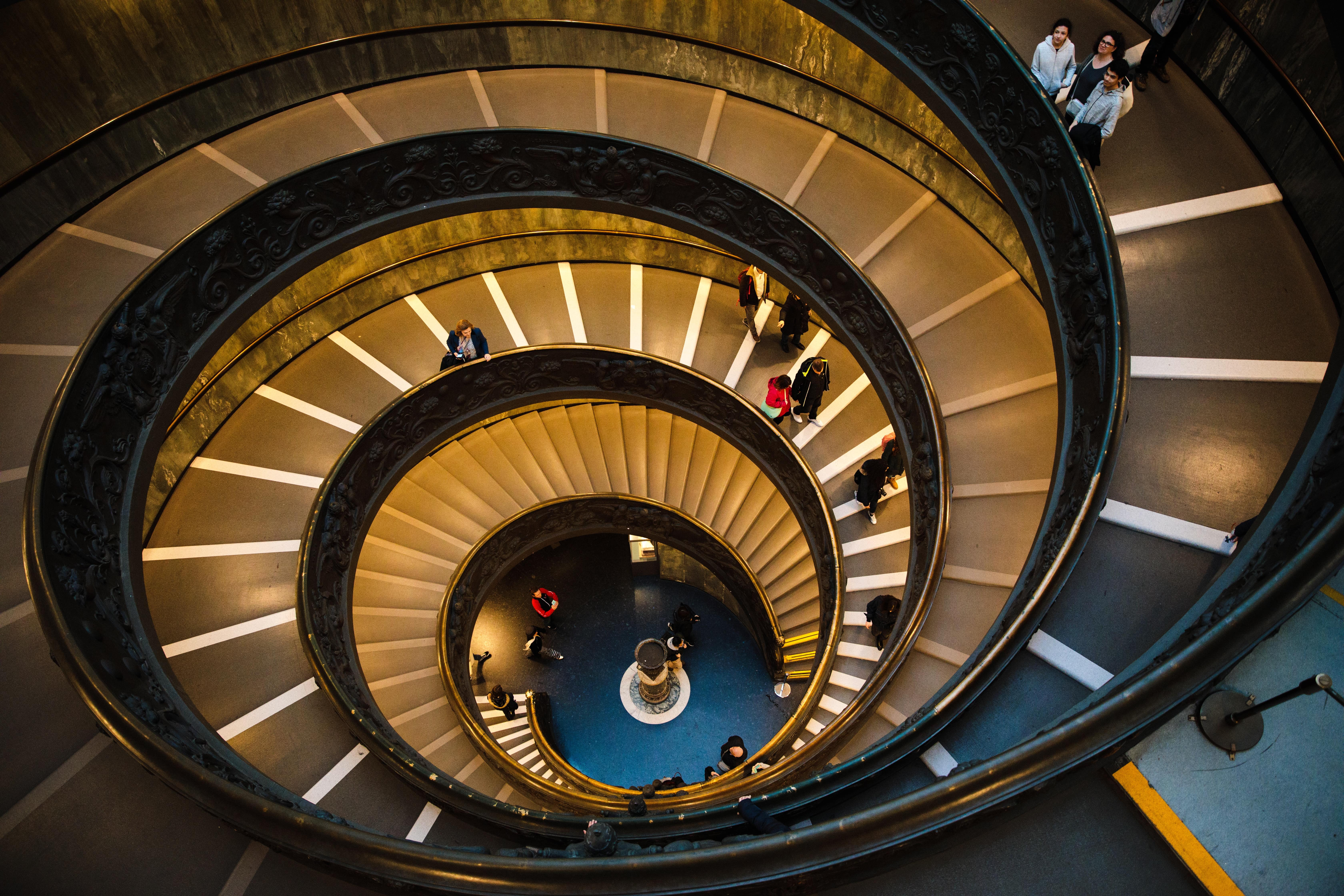 funnel-staircase